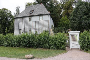 Goethes Gartenhaus  Park an der Ilm Weimar