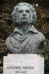 Alexander Puschkin Denkmal Weimar