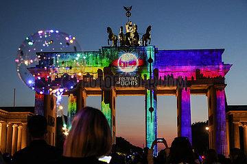Deutschland-Berlin-Festival der Lichter
