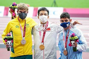 (Tokyo2020) Japan-Tokyo-Paralympics-Leichtathletik-Männer 100m T36