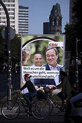 Armin Laschet  CDU Wahlplakt