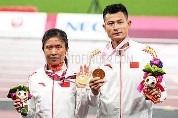 (Tokyo2020) Japan-Tokyo-Paralympics-Leichtathletik-Frauen 200m T11-Finale