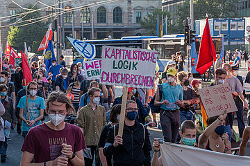 Demonstration gegen Bosch Werksschließung