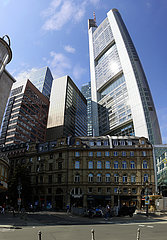 Panorama: Commerzbank Tower  Frankfurt am Main