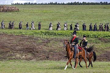 Russland-Borodino-1812 Battle-Reenactment