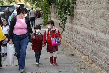Türkei-Ankara-Covid-19-School-Reopen