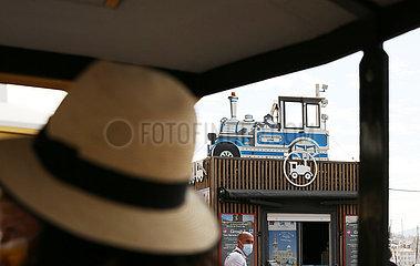 Ansichten von Frankreich-Marseille-City