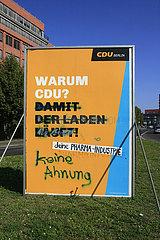 Warum CDU? Keine Ahnung