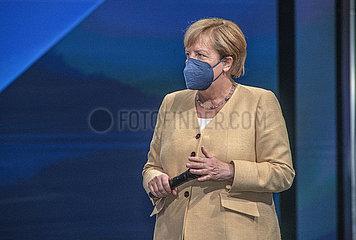 Bundeskanzlerin Angela Merkel  IAA Muenchen  07.09.2021