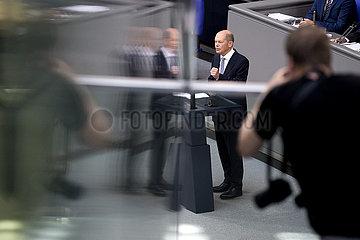Olaf Scholz - Bundestag