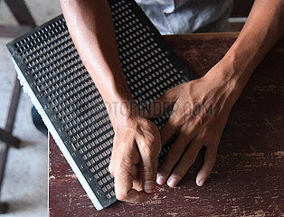 Indien-Agartala-Int'l-Alphabetisierungstag