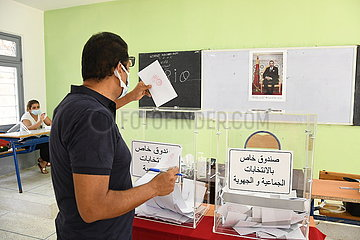 Marokko-Rabat-Gesetzgebungswahl