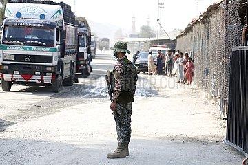 Pakistan-Torkham-Afghanistan-Grenze
