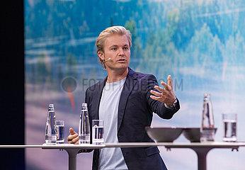 Nico Rosberg auf der Internationale Automobilausstellung ( IAA ) in München