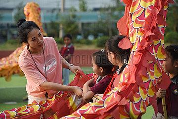 China-Anhui-Hefei-After-School-Aktivität (CN)