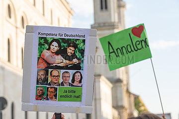 Annalena Baerbock in München