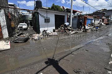 Mexiko-Hidalgo-Überschwemmungen