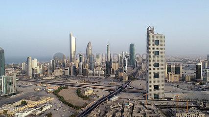 Kuwait-Kuwait City-Cityscape