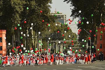 Tadschikistan-Dushanbe-30. Jubiläumsunabhängigkeit