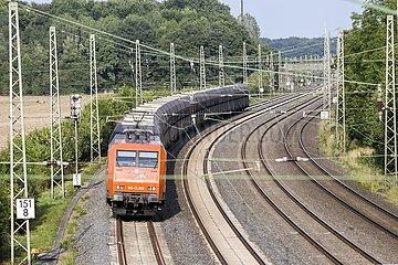Güterzug von ArcelorMittal