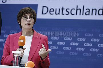 Vorstellung der Agenda fuer ein sicheres Deutschland   Konrad-Adenauer-Haus  10. September 2021