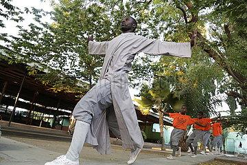 Tansania-shaolin Tempel-chinesischer Kung Fu