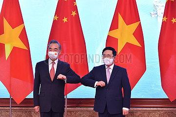 Vietnam-Hanoi-Pham Binh Minh-China-Wang Yi-China-Vietnam-Lenkungsausschuss für bilaterale Zusammenarbeit-Treffen