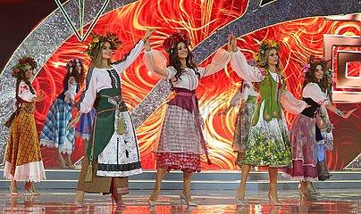 Weißrussland-Minsk-Miss Belarus-Beauty Pageant
