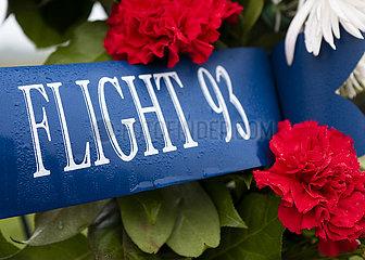 US-Pennsylvania-Flug 93 National Memorial-Trauer