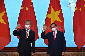 Vietnam-Hanoi-PM-China-Wang Yi-Treffen