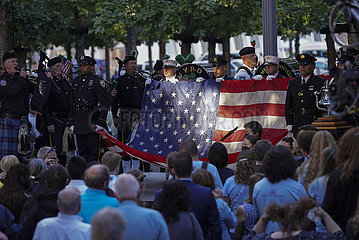 U.S.-New York-9/1 11 Angriffe-20. Jahrestag
