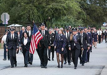 US-Texas-Grapevine-9/11-Angriffe-20-Jahr-Jubiläum
