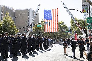 U.S.-SAN-JOSE-9/11 Angriffe-20-jähriges Jubiläum