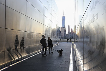 US-New Jersey-9/11 Angriffe-20-jähriges Bestehen