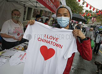 Kanada-Vancouver-Leuchten Sie Chinatown auf