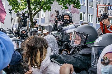 Aussteigen: Demonstration gegen die IAA und für eine Mobilitätswende in München