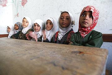 Jemen-Sanaa-Schulmädchen