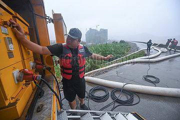 China-Zhejiang-Zhoushan-Typhoon Chanthu (CN)