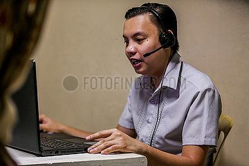 Philippines-Covid-19-Online-Unterricht