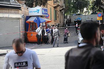 Midost-Jerusalem-stachender Angriff