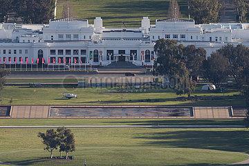 Australien-Canberra-Extended Lockdown