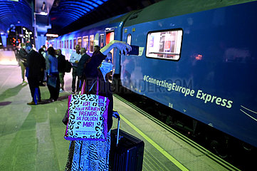 Nordmakedonien-Skopje-Europe Express