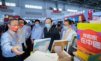 China-Beijing-Huang Kunming-International Book Fair (CN)