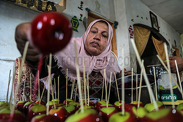 Midest-Gaza-Candy-Äpfel