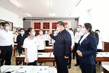 China-shaanxi-yulin-suide-xi-Jinping-Inspektion (CN)