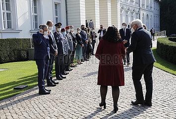 Schloss Bellevue - Treffen Steinmeier Osmani