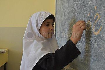 Afghanistan-Balkh-Schulstudenten