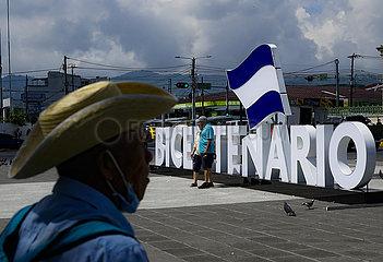 El Salvador-San Salvador-Independence-Bicentennial