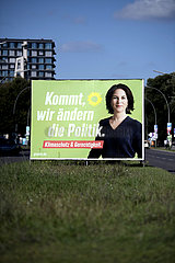 Gruenen Wahlplakt
