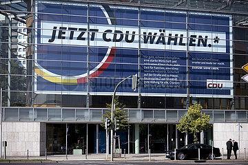 CDU Wahlplakt